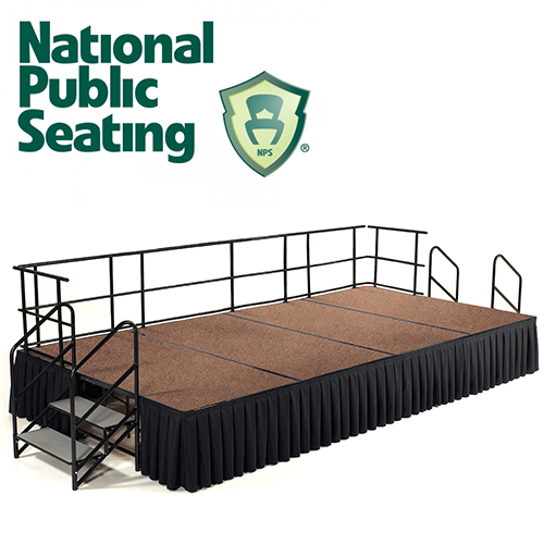 National Public Seating Stage Systems
