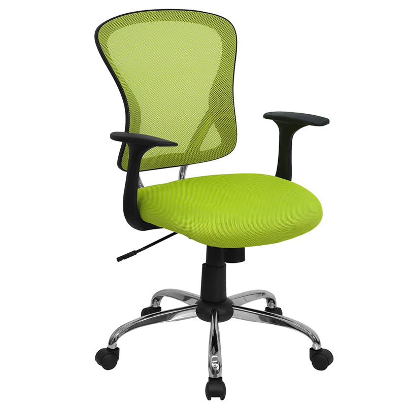 about ergonomic mid back mesh swivel office chair with lumbar support