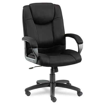 Alera Logan Series High Back Mesh Office Chair with Swivel, Tilt, & Arms