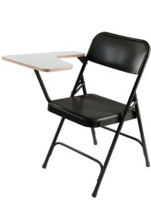 2 PACK 5200 Series Tablet Arm Folding Chair