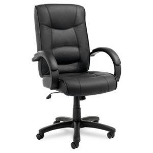 Alera Top Grain Leather High Back Executive Chair
