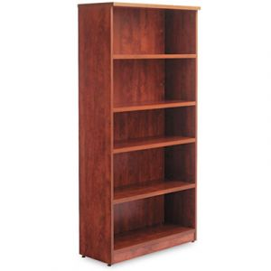GOGO® Essentials Five-Shelf Bookcase
