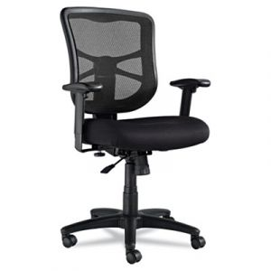 Alera Ergonomic Mid-Back Mesh Office Chair with Adjustable Lumbar Support