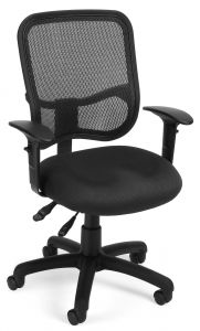Ergonomic Office Task  Chair with Mesh Back & Arms by OFM