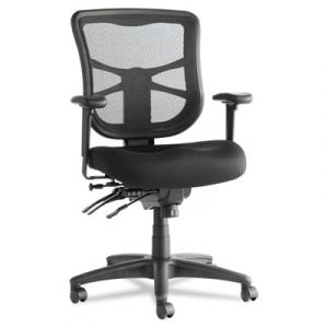 Alera Multi-Functional Mid-Back Mesh Office Chair with Seat Glide & Adjustable Tilt