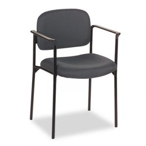 Basyx by Hon Fabric Stacking Reception Chair with Arms