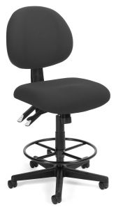 Heavy Duty 24 Hour Super Comfort Drafting Stool by OFM