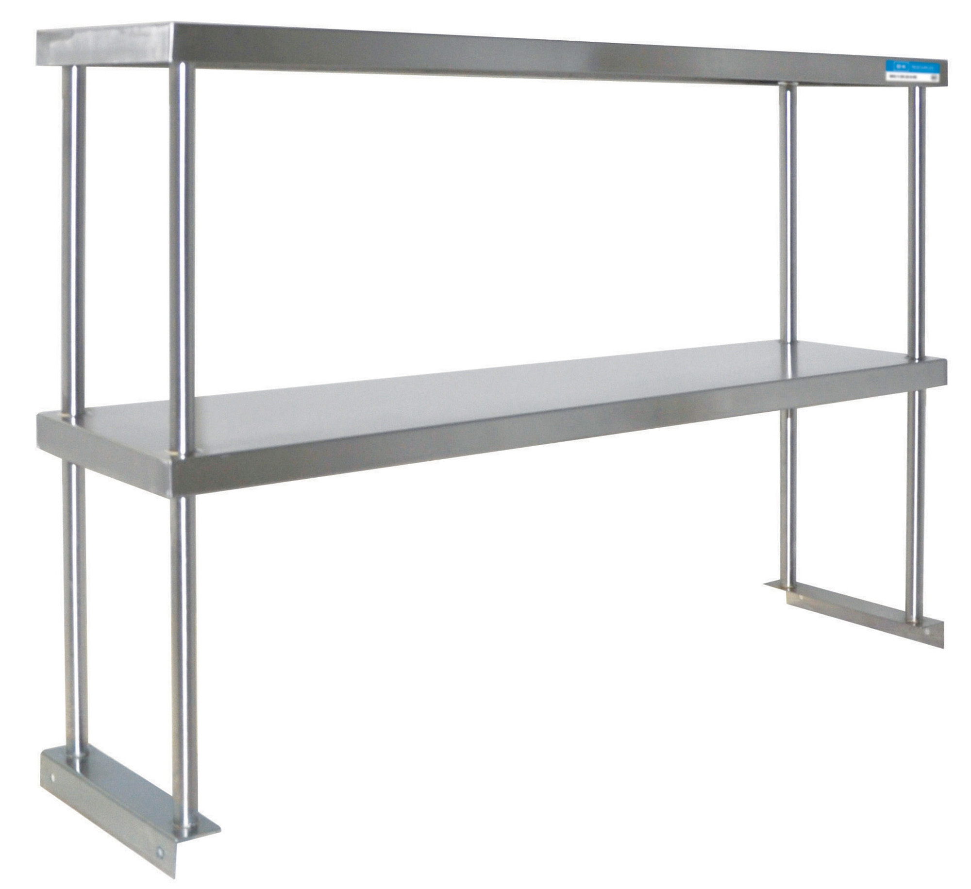 Diversified Woodcrafts Double Stainless Steel Overshelf