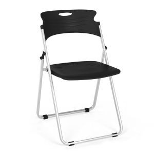 4 PACK Flexure Heavy Duty Plastic Folding Chair by OFM