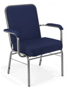 Big & Tall Super Comfort 500 lb Stacking Chair with Arms by OFM