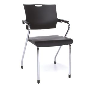4 PACK OFM Designer Plastic Stacking Chair
