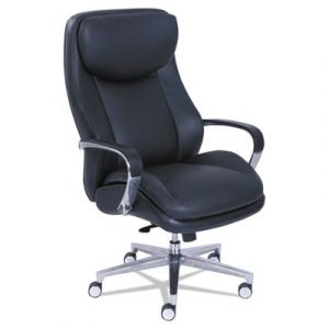 LA-Z-BOY 400 lb Capacity Big & Tall Executive Chair with Knee Tilt & ComfortCore Gel Seat