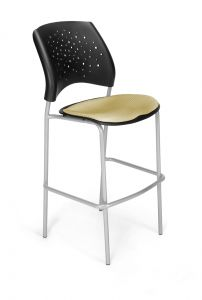 2 PACK OFM Stars Cafe Height Stacking Chair