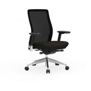 Cherryman Eon Series Ergonomic Task Chair with Black Frame