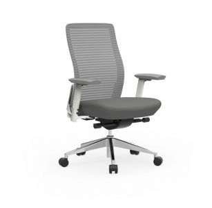 Cherryman Eon Series Ergonomic Task Chair with White Frame
