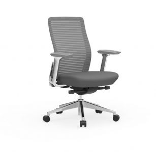 Cherryman Eon Conference Chair with White Frame