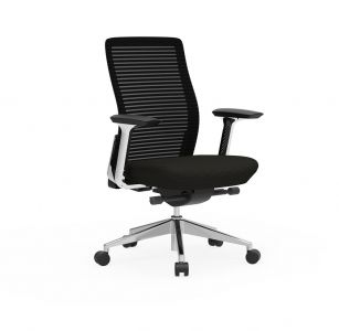 Cherryman Eon Conference Chair with Black Frame