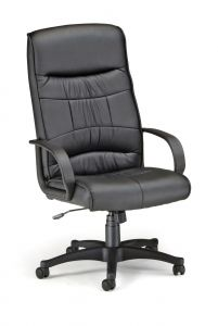 OFM Waterbury Series Leather High Back Executive Office Chair