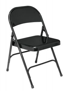 4 PACK National Public Seating All-Steel Folding Chair 50 Series