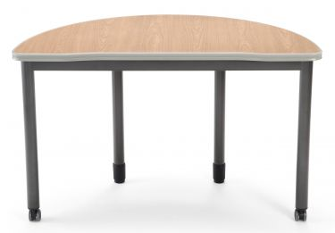 "OFM Mesa Series Half-Round 24"" x 48"" Table"