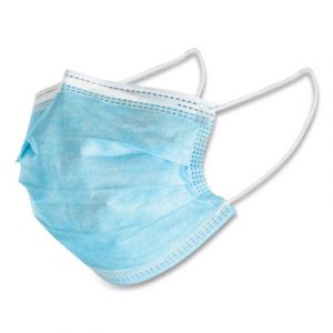 General Use 3 Ply Disposable Mask - Blue - 50 Count