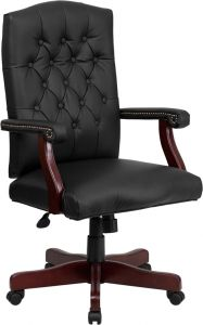 Martha Washington Traditional Leather Executive Swivel Chair