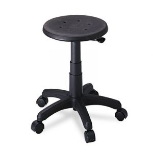 Safco Rolling Stool with Black Foam Seat