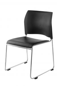 4 PACK NPS 8700 Series Cafetorium Vinyl Stack Chair