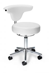 OFM Anatomy Series Anti-Microbial/Anti-Bacterial Vinyl Rolling Stool
