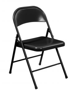 4 PACK Commercialine All-Steel Folding Chair