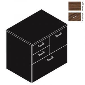 Cherryman Amber Series 2 Box 2 File Storage Unit