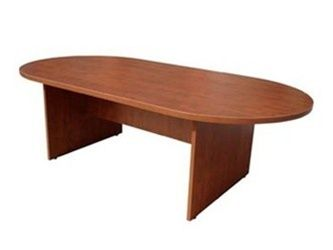 "Cherryman Amber Series 42 "" x 95 "" Racetrack Conference Table"
