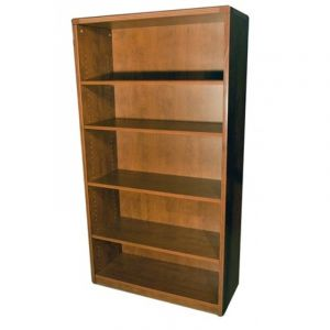 Cherryman Amber Series Four Shelf Bookcase