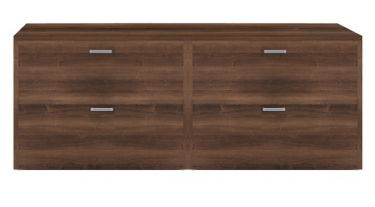Amber Series Four Lateral File Drawer Credenza