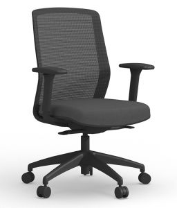 Cherryman Atto Task Chair with Adjustable Arms, Seat Slider, & 4 Locking Positions