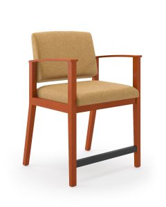 Lesro Amherst Wood® Big & Tall Oversize Guest Chair