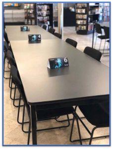 """Barricks 720 Series WPN Premium Folding Table-18"""" W x 96"""" L"""