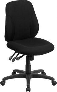 Multi-Functional Fabric Ergonomic Mid Back Task Chair