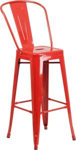"HUSKY Seating® 500 LB 30"" Indoor-Outdoor Metal Bar Stool"