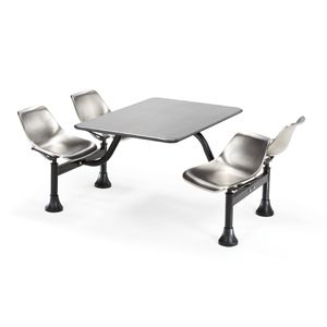 OFM Stainless Steel Cluster Table