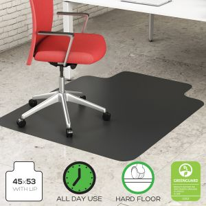 Husky Office® 1000 LB Premium Glass Chair Mat for All Floors
