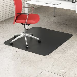 Light Duty Black Hard Floor Chair Mat