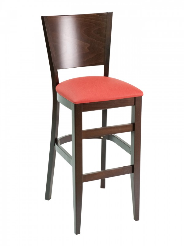 Florida Seating CON-11B Panel Back Restaurant Bar Stool