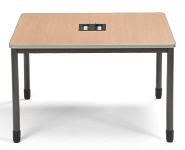 "OFM Mesa Series 48"" x 48"" Media Workstation Table"