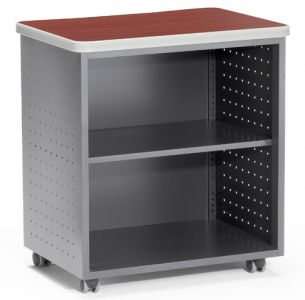 OFM Mesa Series Mobile Utility Table with Shelf