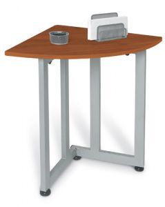 OFM Contemporary Quarter-Round Utility Table