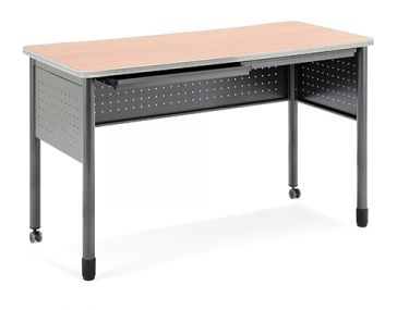 OFM Mesa Series Standing Height Utility Table with Drawers
