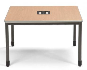 "OFM Mesa Series 48"" x 48"" Media Workstation Table"
