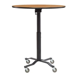 FLEX Commercial Flip-Top Adjustable Height Table with Wheels