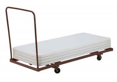 """NPS Folding Horizontal Table Dolly for 72"""" L (6 Foot) Folding Tables"""
